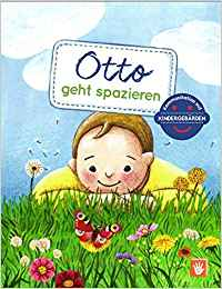 Otto geht spazieren - Bilderbuch mit Kindergebärden / Babyzeichensprache Sonne