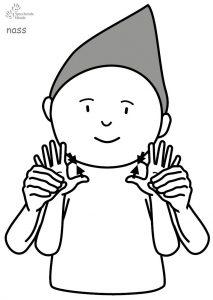 nass Babyzeichensprache Babygebärden Kindergebärden
