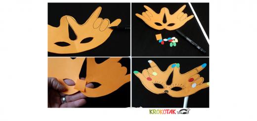 Babyzeichensprache-Babygebärden-Kindergebärden-Faschingsmaske