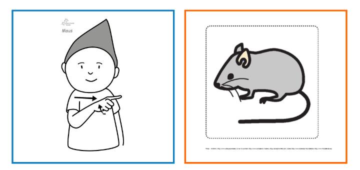 Babyzeichensprache-Babygebärden-Kindergebärden-Maus