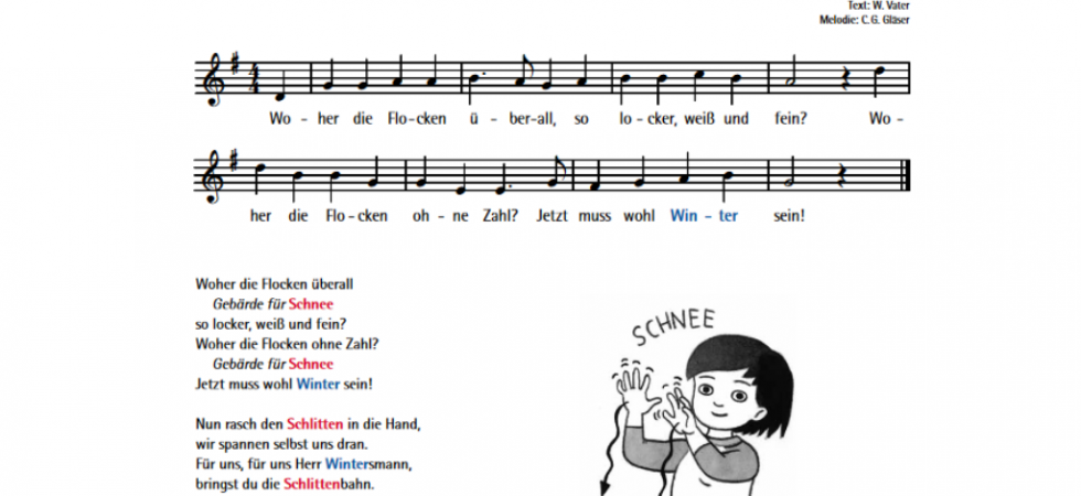 Kindergebaerden-Babygebaerden-Babyzeichensprache-Schnee-Winter-Lied