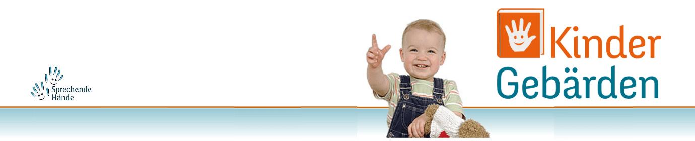 sprechende-haende  -  Kindergebärden